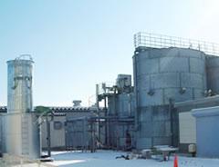 新潟県内食品工場廃水施設