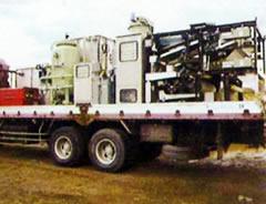 移動式泥土固化処理装置