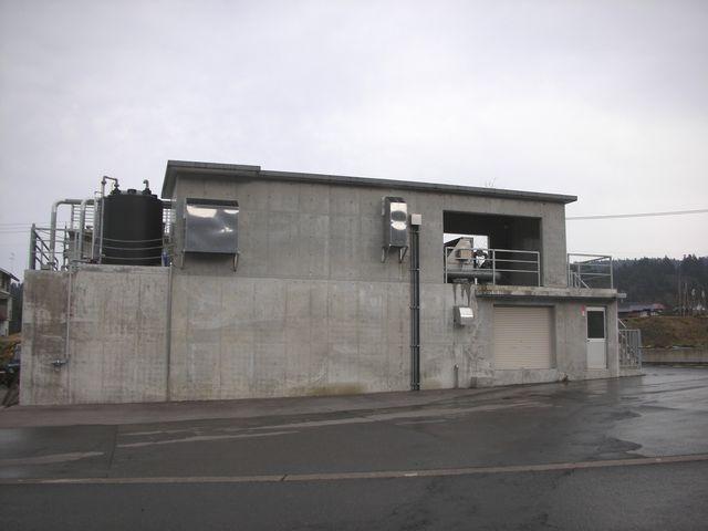 排水処理施設建設