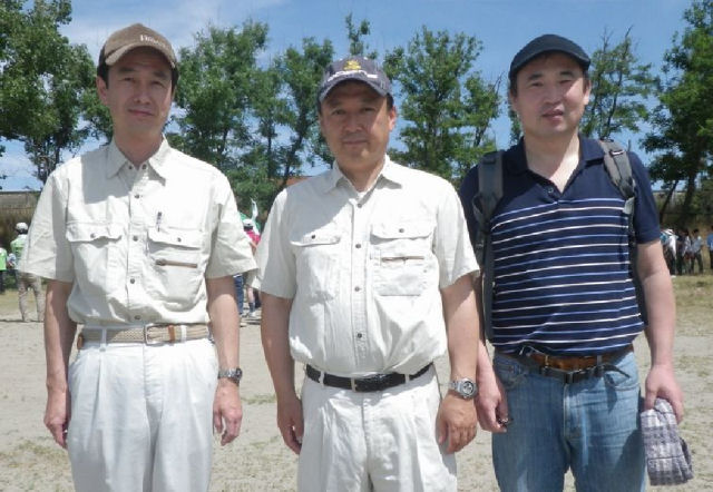関屋浜海水浴場海岸清掃
