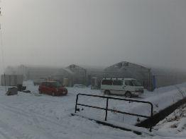西山栽培ハウスの暖房
